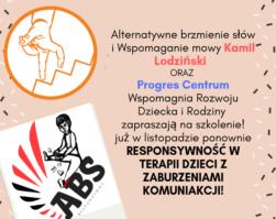 Warsztaty: Odświadomego uczestnictwa dokonstruktywnej zabawy. Alternatywne Brzmienie Słów iWspomaganie Mowy – Kamil Lodziński